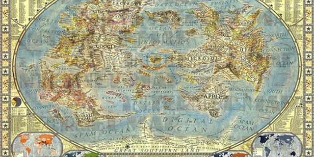 Se internet fosse una mappa? Sarebbe esattamente così.