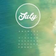 Sfondi per desktop con calendario – Luglio 2014