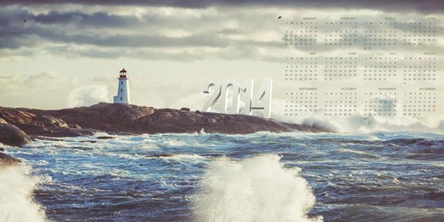 Calendari per desktop – 2014