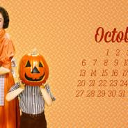Sfondi Desktop con calendario – Ottobre 2014