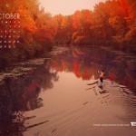 """Sfondo """"Autunno sul lago"""" - 1280x1024 px"""