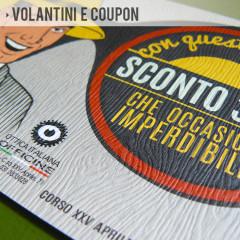 Volantini e coupon